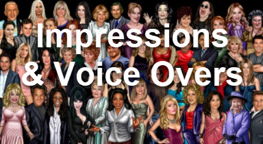 impressions and voice overs